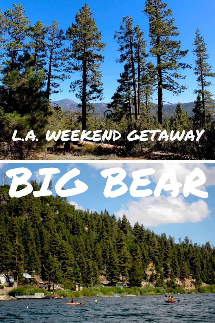 Big Bear Lake: A Perfect Weekend Getaway from Los Angeles! Click through to read more on my travel blog :)