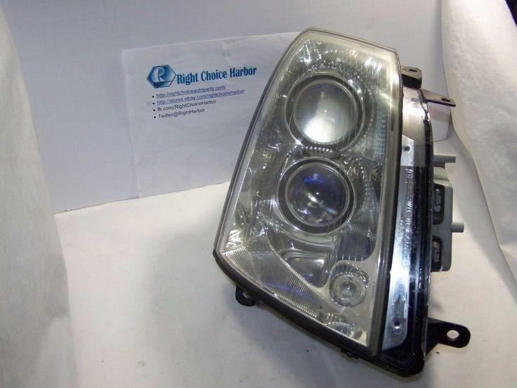 08-11 Cadillac STS Right RH Passenger Halogen Headlight Lamp OEM #Cadillac