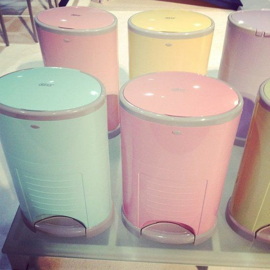 This is the same diaper pail we have, best one out there!  Just wish it was available in pink when we got ours!!  New Kid and Baby Products From ABC Kids Expo For 2013 Photo 95