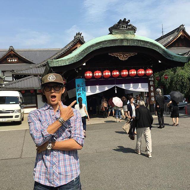 Dansyun Tatekawa @ Gion Kobu Kaburenjyo. #稲葉浩志 #koshiinaba #立川談春