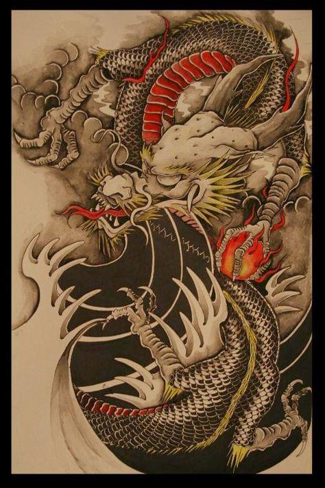 8 mejores imgenes de dragones en Pinterest  Dragn japons
