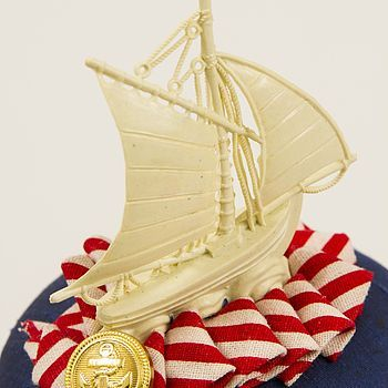 Hello Sailor Nautical Fascinator