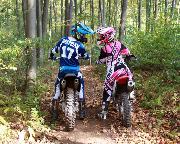 Helmet Touch Couples Photography On Dirt Bikes Www