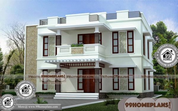 Best Narrow Lot House Plans 100 Indian House Designs Double Floor Narrow Lot House Plans Narrow Lot House Small House Design
