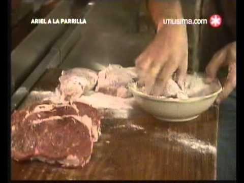 Ariel a la Parrilla - Bifes a la Criolla - Mousse de Chocolate - 2 de 3.avi