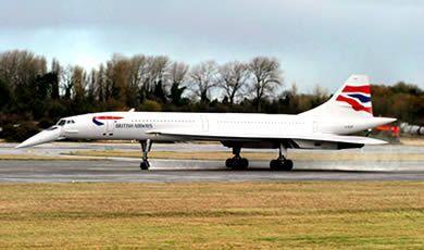 Concorde at Filton just north of Bristol
