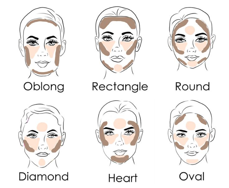Contouring and highlighting can be a mind field in itself, never mind throwing in the fact that techniques can vary depending on your face shape and the products you use. These guides aren't set in stone but by following these few steps, your face will look defined and highlighted to perfection. Oblong