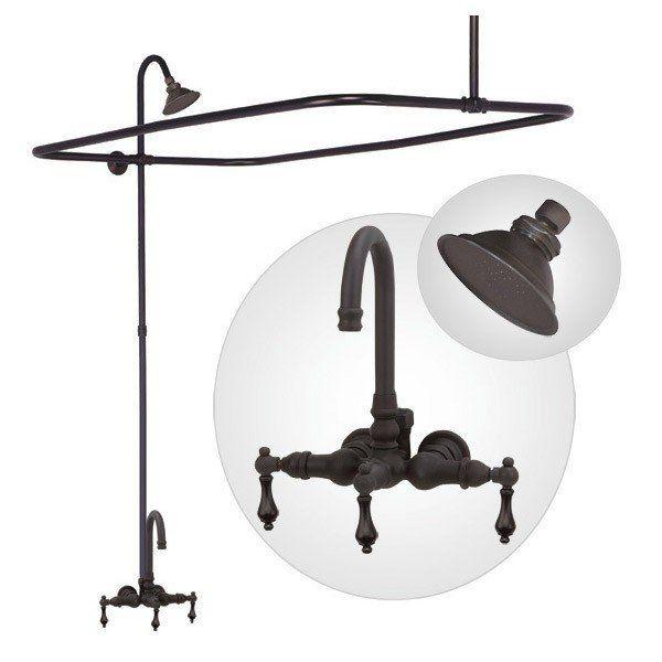 clawfoot tub enclosure shower kit vintage tub u0026 bath