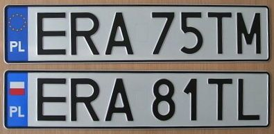 Vehicle registration plates of Poland - Wikipedia, the free ...