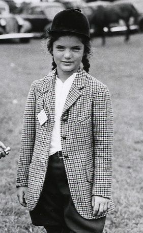 young Jackie Bouvier Kennedy Onassis