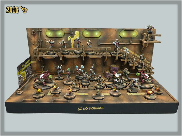 """""""GO GO NOMADS DISPLAY DIORAMA"""" SPECIAL PROJECT by Scar_hand Painting"""