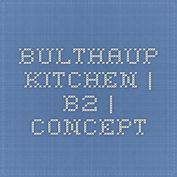 bulthaup kitchen | b2 | Concept