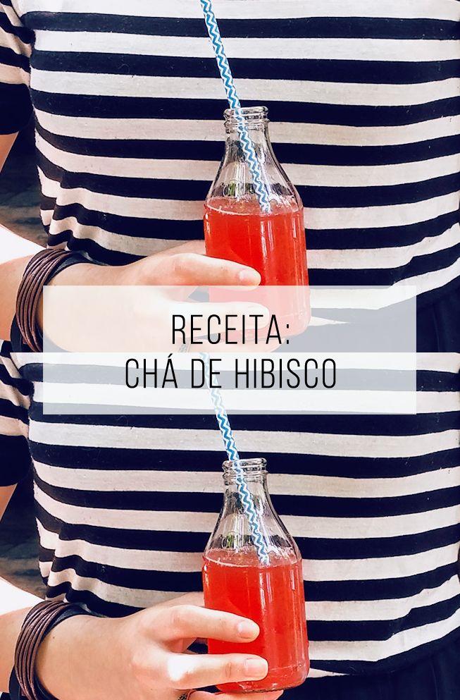 Chá de hibisco com maracujá: receita fácil e diferente de drink gelado sem…