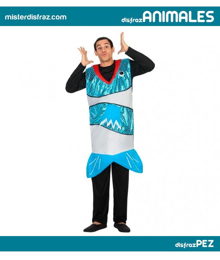 Disfraz de Pez Azul para Hombre. Con este disfraz te sentirás como Pez en el agua y brillaras en el gran mar de los Carnavales. Es perfecto para Halloween, Carnaval y Fiestas Temáticas. #disfrazdeanimal #disfrazesdeanimales #disfraz #animal #disfrazhombre #hombre #pezazul #pez #azul