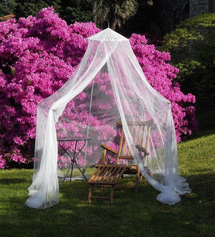 Relax tra i fiori - #Fafina #zanzariera #outdoor #Grigolite
