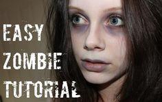 Easy Zombie Makeup Tutorial – Makeup Project