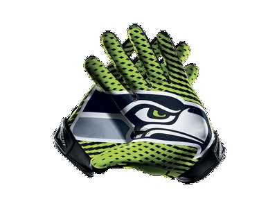 Nike Vapor Jet 2.0 (NFL Seahawks) Football Gloves