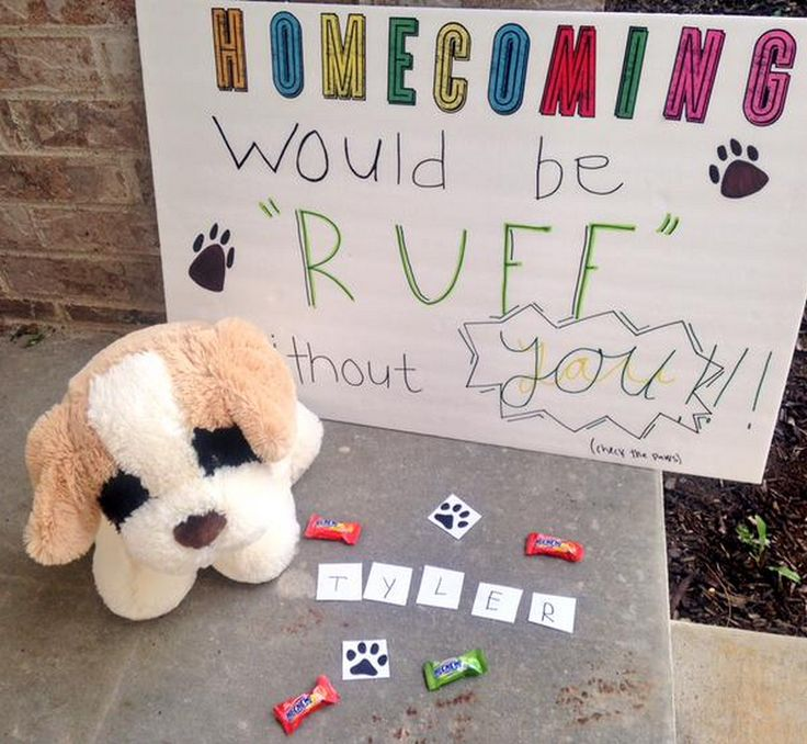 "Because homecoming ""proposals"" are the new promposals."