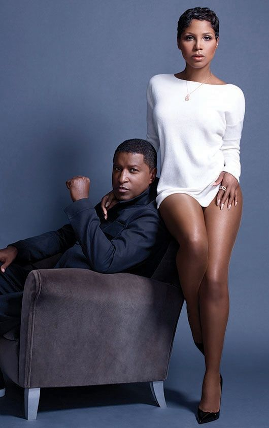 Toni Braxton and Babyface, R&B singer-songwriters. Famous in their own right, they joined to release an album titled Love, Marriage & Divorce. They are both divorcees.