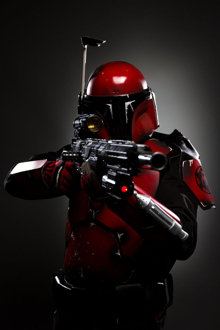 Mandalorian... The coolest, awesomest, most BA Star Wars race to eva exist!!