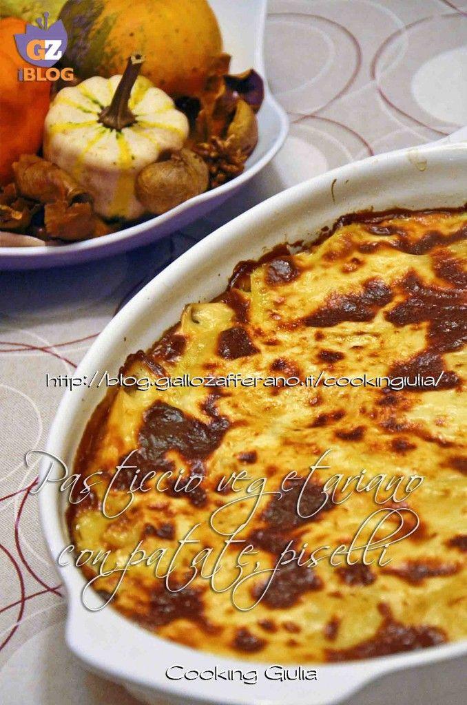 Vegetarian Pie with Potatoes - Benvenuti su CookingGiulia