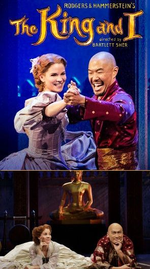 """Shall We Dance?"" – The King and I Music: Richard Rodgers   Lyrics: Oscar Hammerstein II This musical about British schoolteacher Anna Leonowens and her experiences with the King of Siam while char…"