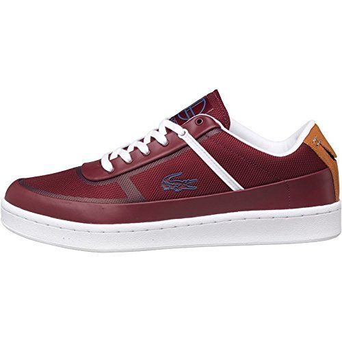 Lacoste mesh and soft leather lace-up trainers with chunky sole. Moulded badge branding. Closure: Lace-Up Material Composition: Textile and leather upper. Textile and leather upper. Textile and synthetic lining. Ortholite® antimicrobial sockliner. Size : Uk 6.5 & 7.5 - US:7.5 & 8.5- EU : 40&41