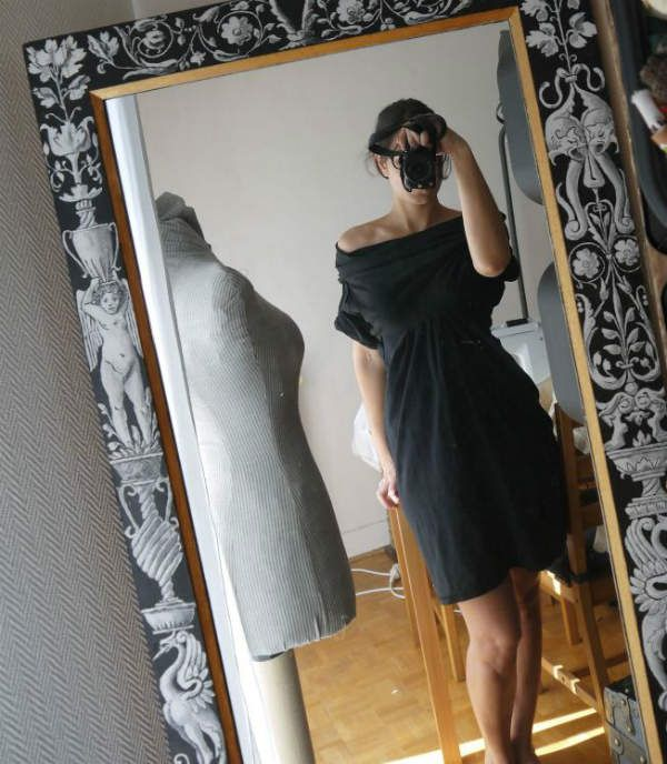 DIY : la robe aux 2 t shirts