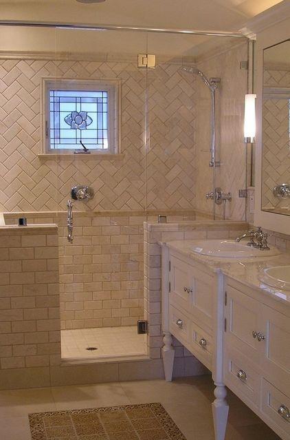 Tile Layout Traditional Bathroom By Design Moe Kitchen Bath Heather Moe Designer