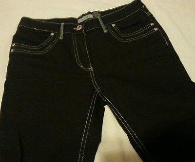 Yessica WOMEN'S Jeans Juniors Sz 8 Black