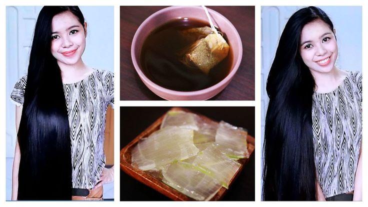 DIY Green Tea and Aloe Vera Gel Shampoo For Hair Growth, Hair Fall & Dan...