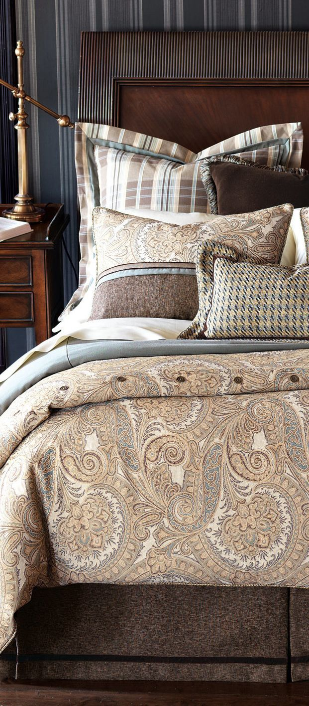 Fairfax Rustic Bedding Collection Master Bedroom