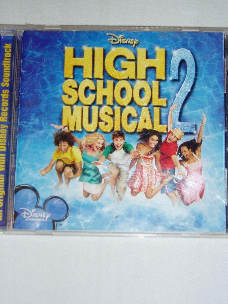 High School Musical 2 Soundtrack - Walt Disney Records - CD