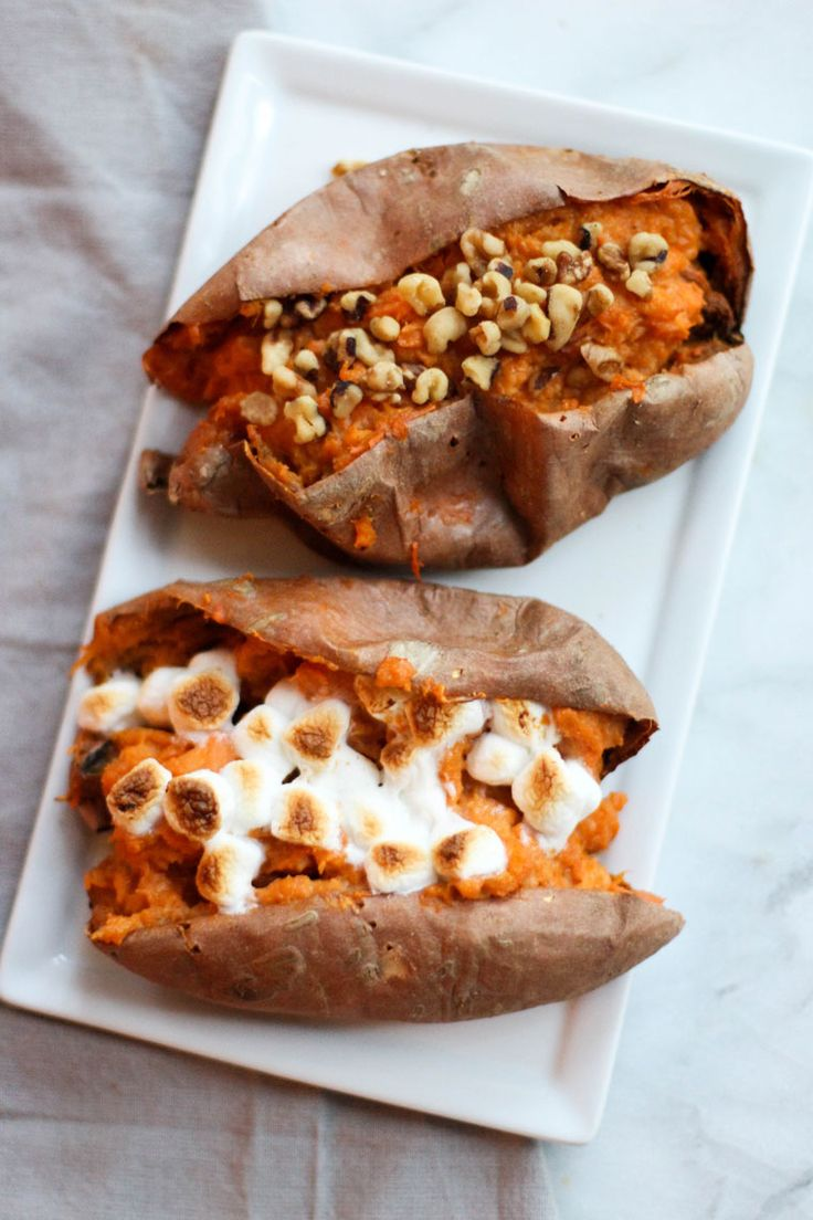 twice baked sweet potatoes | yellow bliss road