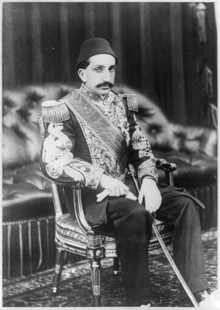 Abdul Hamid II: The last Ottoman Sultan, called 'The Red Sultan' because he oversaw the Armenian Genocide