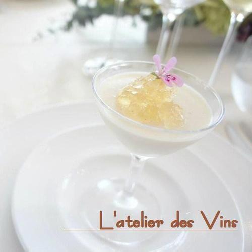 新玉ねぎの純白ムース Mousse d'oignons nouveaux|きちんとレシピ|フードソムリエ