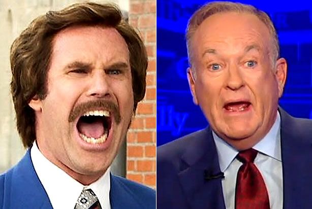 """Bill O'Reilly challenges Will Ferrell to come on """"The Factor"""" to debate politics — then immediately thinks better of it"""