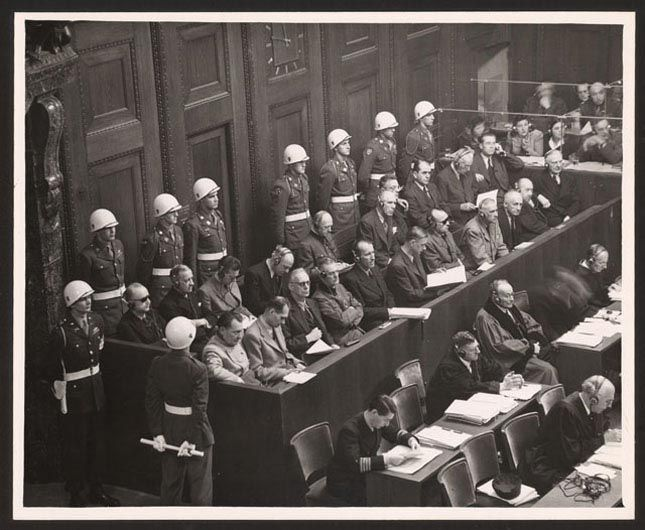 nuremberg trial nazi germany Nuremberg trials - adolph hitler became chancellor of germany in 1933 he began the nazi party which took over every aspect of german life he wanted to conquer all the countries of europe he wanted his country to contain only what he called the master race jews and other non-acceptable people.