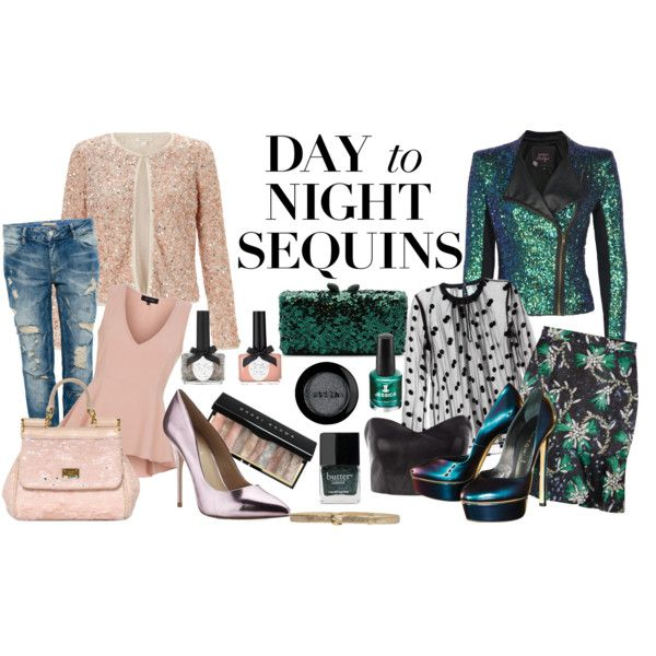 """Sequins all day long!"" by lelouka on Polyvore"
