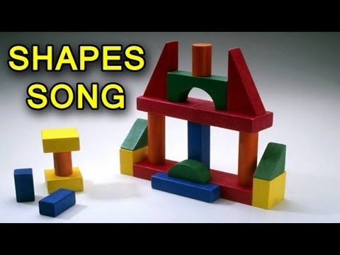 Shapes Song by The Learning Station                                                      Children will learn shape recognition with this play along activity song that makes learning fun as it enhances word recognition, vocabulary, comprehension, memory and recall.
