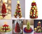 arboles hechos de frutas