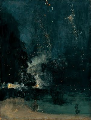 Whistler: Nocturne in Black and Gold