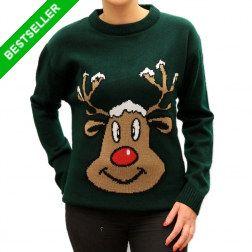 Piękny #świąteczny #sweter z reniferem. Nasz bestseller.