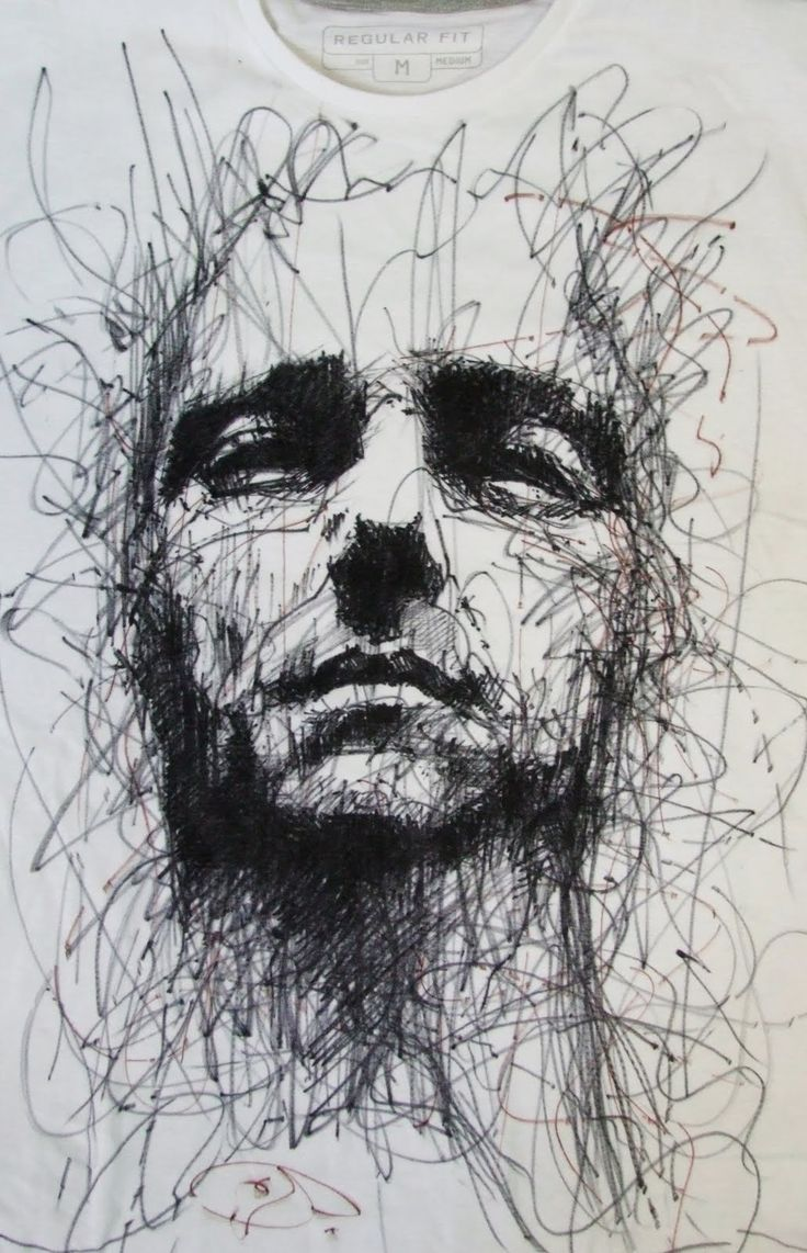 GUY DENNING / love this GD's work but I always have a sense of  tortured souls when I look at it. #artNow  #drawing