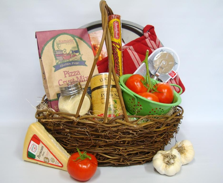 17 best gift baskets sets images on pinterest gift basket i plan to make a pizza gift basket to give out to my friends at the negle Choice Image