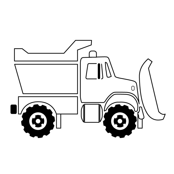 the 25+ best truck coloring pages ideas on pinterest | truck ... - Construction Truck Coloring Pages