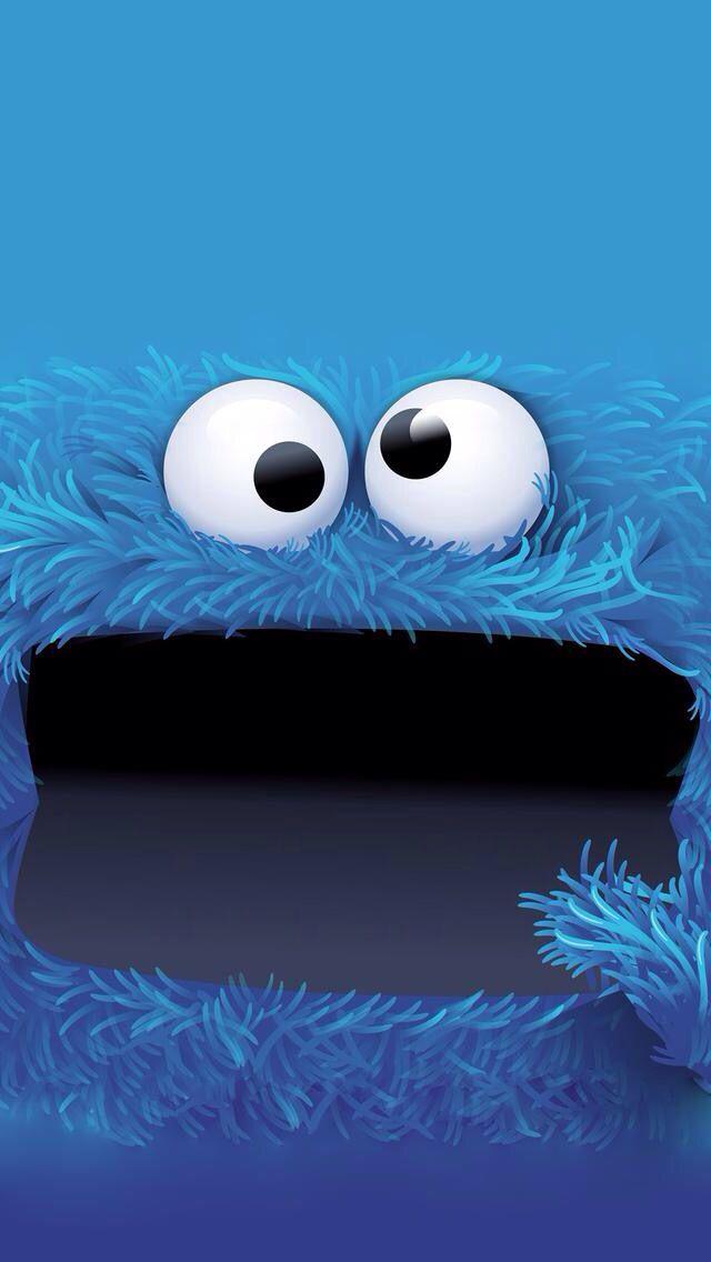 3d Street Wallpaper Cookie Monster Backgrounds Pinterest