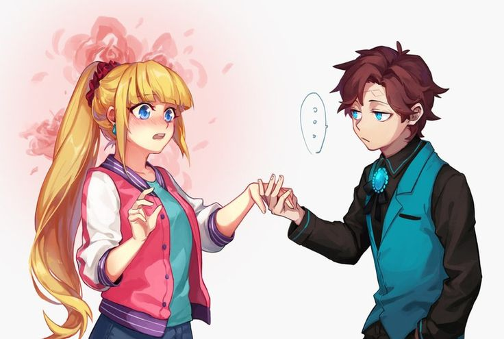 I think these are pacifica and Dipper. But why is Dipper like that?