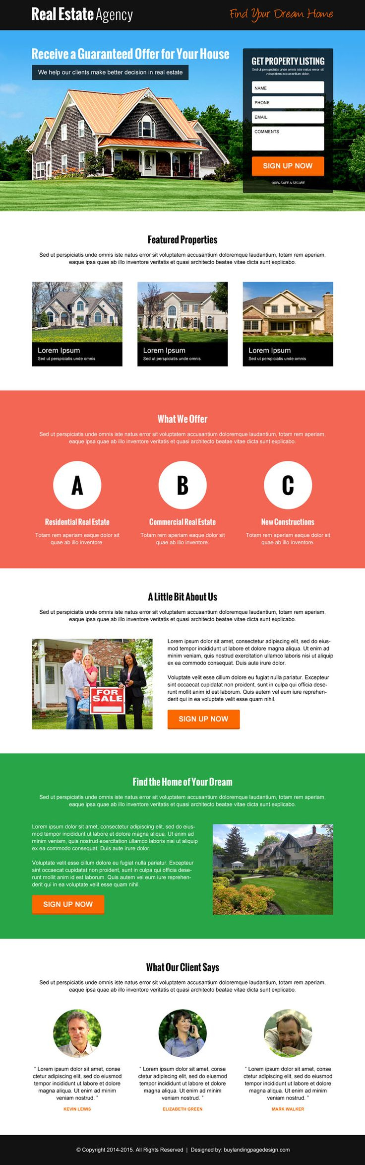10 Beautiful landing page examples to turn traffic into money | Converting landing page design