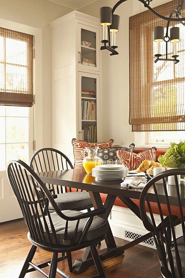 1000 ideas about breakfast nook furniture on pinterest for Dining room nook ideas